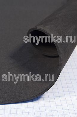 Материал ЭВА гладкий ЧЕРНЫЙ толщина 5мм лист 1х1,8м твердость 55 Шор