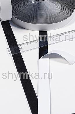 Лента контактная Липучка на клеевой основе ЧЕРНАЯ ТОЛЬКО ВОРС ширина 25мм ВНИМАНИЕ НА КЛЕЮ!!!