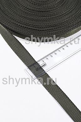 Лента ременная/окантовочная Tefi ширина 20мм плотность 9г/м ХАКИ
