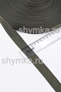 Лента ременная/окантовочная Tefi ширина 22мм плотность 9г/м ХАКИ