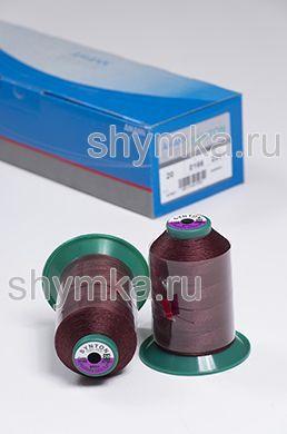Нитки Synton 20 намотка 600м цвет 0166 ТЕМНО-БОРДОВЫЙ