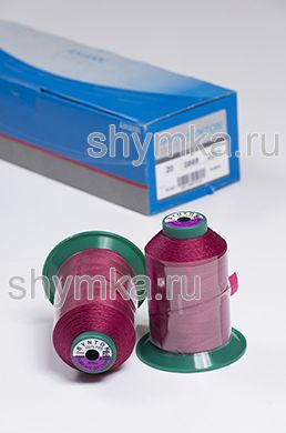 Нитки Synton 20 намотка 600м цвет 0869 РОЗОВАТО-ЛИЛОВЫЙ