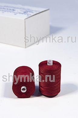 Нитки Красная Нить армированные 45ЛЛ намотка 2500м цвет 028 КРАСНЫЙ