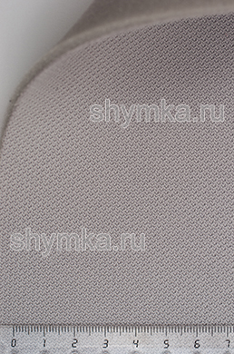 Материал потолочный на поролоне PEARL 02 СЕРЫЙ ширина 1,4м толщина 3мм