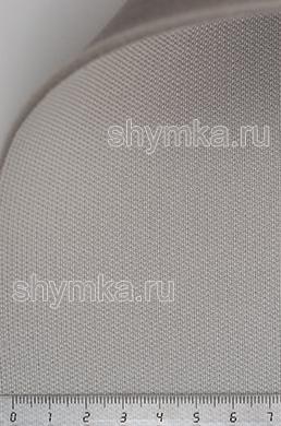 Материал потолочный на поролоне PEARL 04 СЕРЫЙ ширина 1,4м толщина 3мм