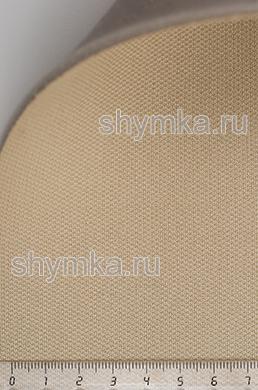 Материал потолочный на поролоне PEARL 06 БЕЖЕВЫЙ ширина 1,4м толщина 3мм