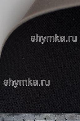 Материал потолочный на поролоне PEARL 09 ЧЕРНЫЙ ширина 1,4м толщина 3мм