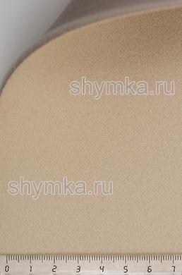 Материал потолочный на поролоне VERONA 02 БЕЖЕВЫЙ ширина 1,4м толщина 3мм