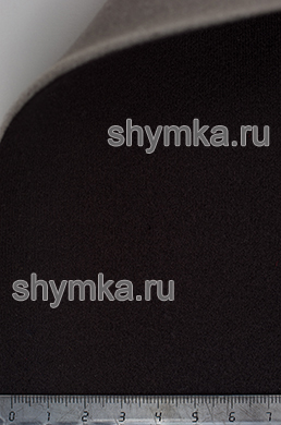 Материал потолочный на поролоне VERONA 04 ЧЕРНЫЙ ширина 1,4м толщина 3мм