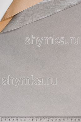 Велюр на клею СЕРЫЙ толщина 1мм ширина 1,4м