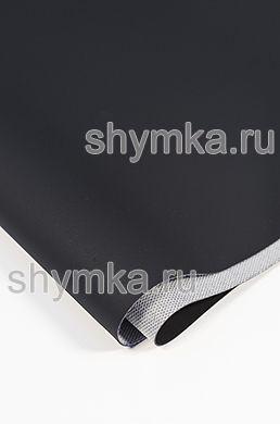 Винилискожа Швайцер Наппа 0500 BLACK ширина 1,4м толщина 0,95мм