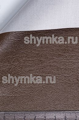 Винилискожа Стандарт КОРИЧНЕВАЯ-2 ширина 1,4м толщина 0,6мм