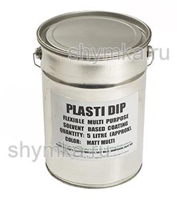 Жидкая резина Plasti Dip White БЕЛАЯ концентрат ведро 5л